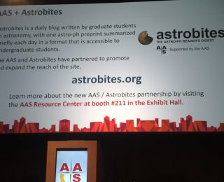 AAS, Astrobites announce new partnership at 228th AAS Meeting