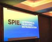 The #SPIEastro conference was held in Edinburgh, Scotland.
