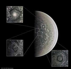 Jupiter's pole