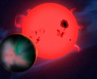 The Lowest Mass Planet with a Detected Atmosphere