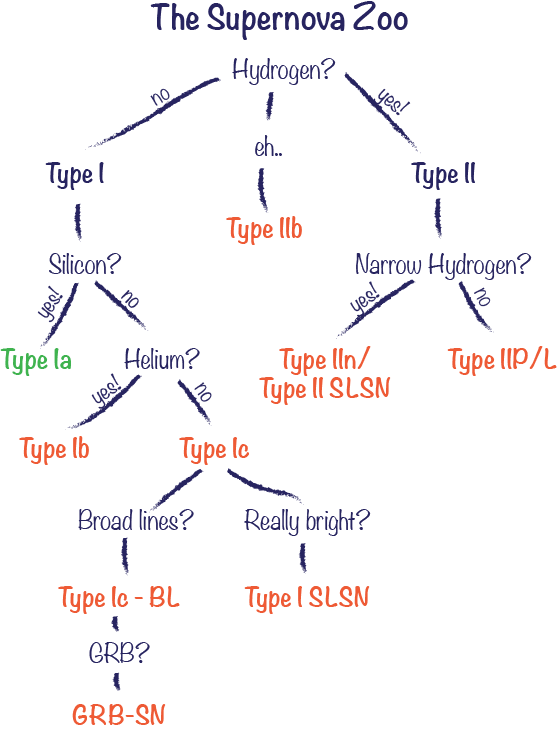 SN classification scheme