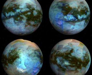 Peeking Through the Haze: A Look at Titan's Bright Surface Features