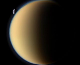 Lakes, an atmosphere and bubbles? Titan has it all