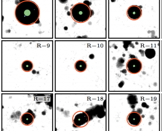 Bubbles from reionization at the cosmic dawn