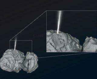 Icy quake-y comet!