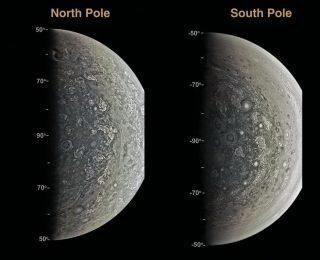 A first glimpse into deep Jupiter