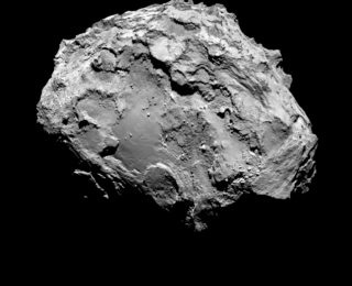 A 'Breathing' Comet
