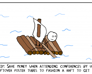 Conference survival guide for students