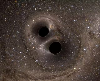 We cannot see stars form but we can hear black holes collide