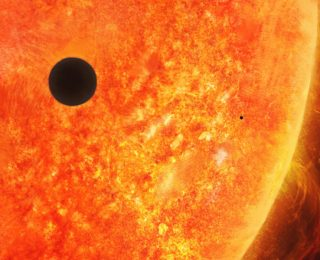 Why is there nothing between Mercury and the Sun?