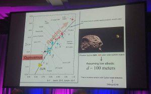 Laughlin's 'Oumuamua talk