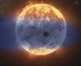 Big and Fuzzy or Small and Rocky? A Close-In Sub-Neptune with Near-Solar Metallicity