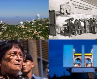 A Tale of Two Observatories: Astronomy and Indigenous Communities in the Southwest US