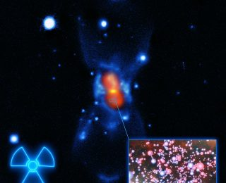 A Historical Nova and the First Radioactive Molecule in Space