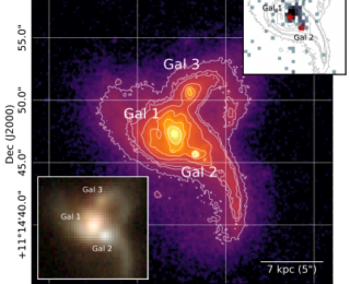 A Discovery of a Triple AGN System