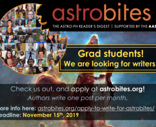 Apply to Write for Astrobites!