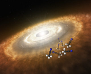 Finding a New Molecule: Discovery of an Organic Acid in a Protoplanetary Disk