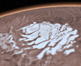Recent Magma Heating Might Explain Water on Mars