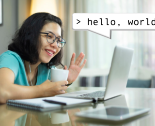 Hello, world! Virtually welcoming new grad students