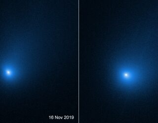 A glimpse into the composition of the first interstellar comet – 2I/Borisov