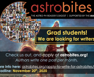 Two weeks left to apply to write for Astrobites!