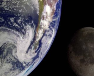 Did the Moon's Ancient Magnetic Field Help Shield the Infant Earth?