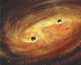 Supermassive Black Hole Binaries Two Ways