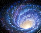 Galaxy in the fabric of spacetime