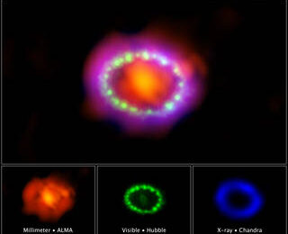 How Many Years Does it Take to Get to the Center of a Supernova Remnant?