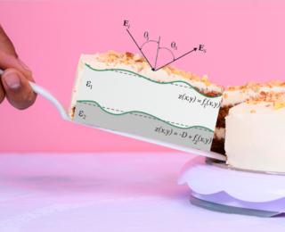 Tholin-flavored layer cake on Titan