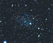 Image of the Eridanus II dwarf galaxy from the Dark Energy Survey