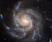Hubble Space Telescope image of the Pinwheel Galaxy (NGC 5457)