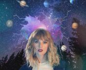 The photo of Taylor Swift is taken from MTV UK. It was edited by the photoshop matser, Sabina Sagynbayeva.
