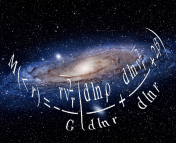The Andromeda Galaxy (M31) with the spherical Jeans mass equation overlayed.