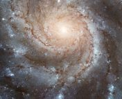 An example of a spiral galaxy that we can actually see face-on