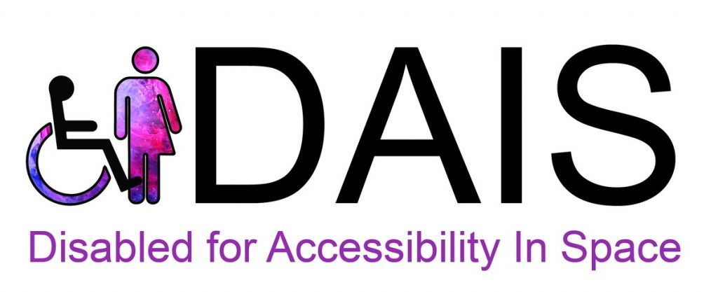 Disabled for Accessibility in Space logo