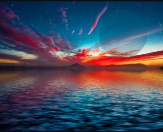 How deep is an exoplanet's ocean?