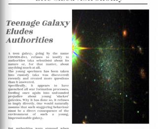 Teenage Galaxy Eludes Authorities